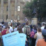 #FaresFair Rally