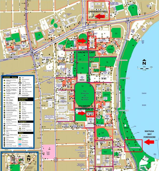 UWA Map